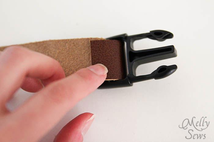 Step 3 - Luke Skywalker Belt Tutorial - Melly Sews #sewing #Halloween #kids #diy
