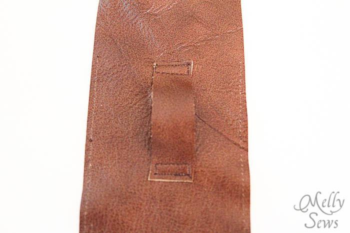 Step 5 - Luke Skywalker Belt Tutorial - Melly Sews #sewing #Halloween #kids #diy