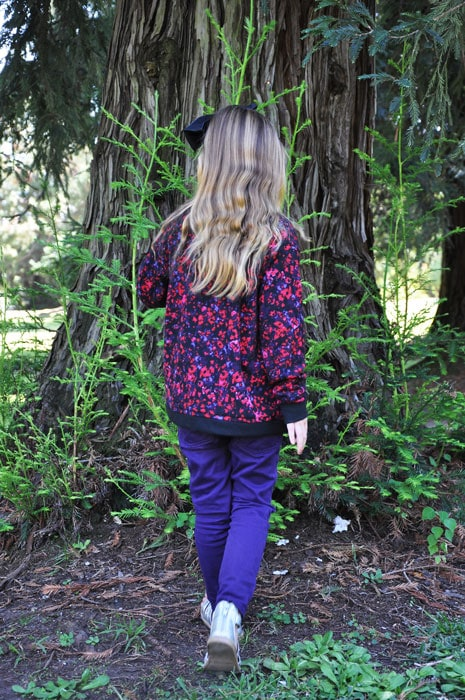Cool Cardigan, pattern by Blank Slate Patterns, sewn by Living with Punks