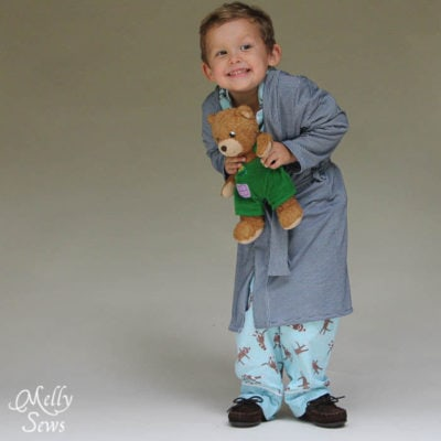 The Sleepy Robe – Free Robe Pattern