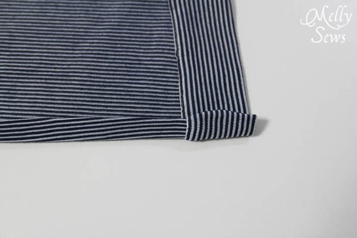 Hem - Sleepy Robe - Free Pattern and Tutorial for Children's Robe Sizes 18m-8 - Melly Sews