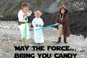 Adorable Star Wars Halloween Costumes - Melly Sews