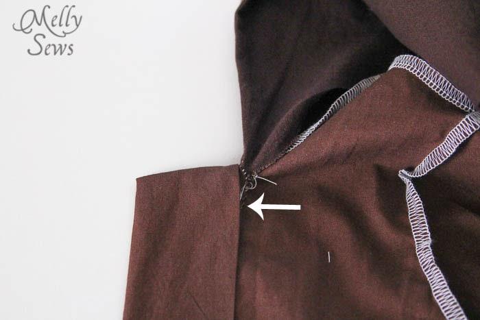 Modifying Sleep Robe for CostumeDIY Kids Star Wars Costumes - Melly Sews