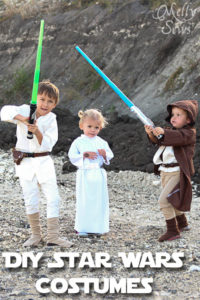 DIY Kids Star Wars Costumes - Melly Sews
