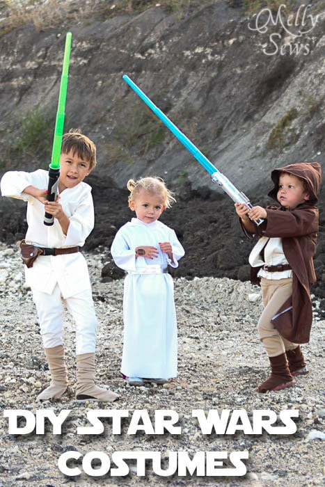 Kids star wars costumes diy kids star wars costumes melly sews tutorials solutioingenieria Gallery