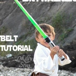 Luke Skywalker Belt Tutorial - Melly Sews #sewing #Halloween #kids #diy