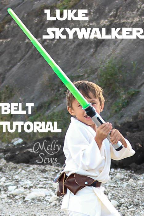 Luke Skywalker Belt Tutorial - Melly Sews #sewing #Halloween #kids #diy