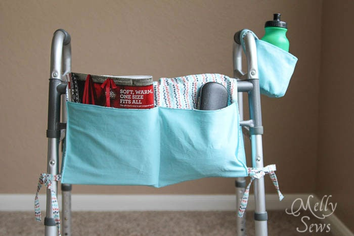 Walker Pouch - Easy To Sew, Great Gift - Melly Sews http://mellysews.com