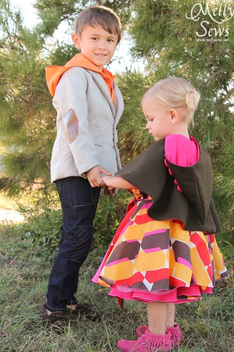 Try to capture natural interactions between kids - Kids Holiday Style Tips - Melly Sews
