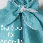 How to Make an Extra Poufy Bow for the Amaryllis Dress