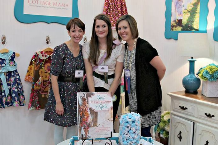 Melly Sews, See Kate Sew and The Cottage Mama at Houston Quilt Market