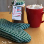 Easy Potholder tutorial with free pattern - Melly Sews
