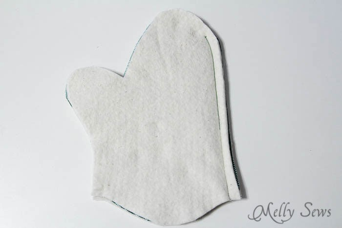 Step 2 - Potholder tutorial with free pattern - Melly Sews