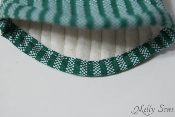 Step 6 - Potholder tutorial with free pattern - Melly Sews