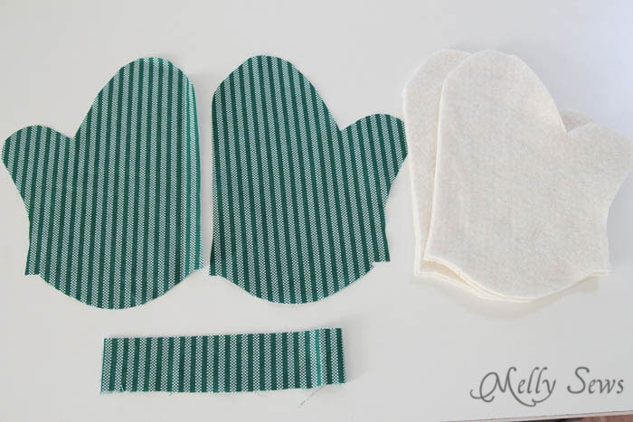 Materials - Potholder tutorial with free pattern - Melly Sews