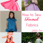 How to Sew Silk, Satin, Taffeta and other Fancy Fabrics