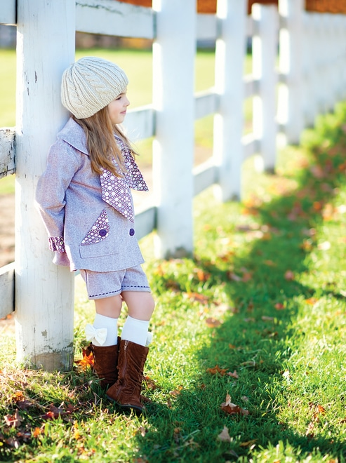 Image courtesy of Lindsay Wilkes from Sew Classic Clothes for Girls