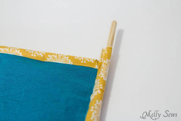 Step 6 - How to Sew Collapsible Fabric Storage Boxes - MellySews.com