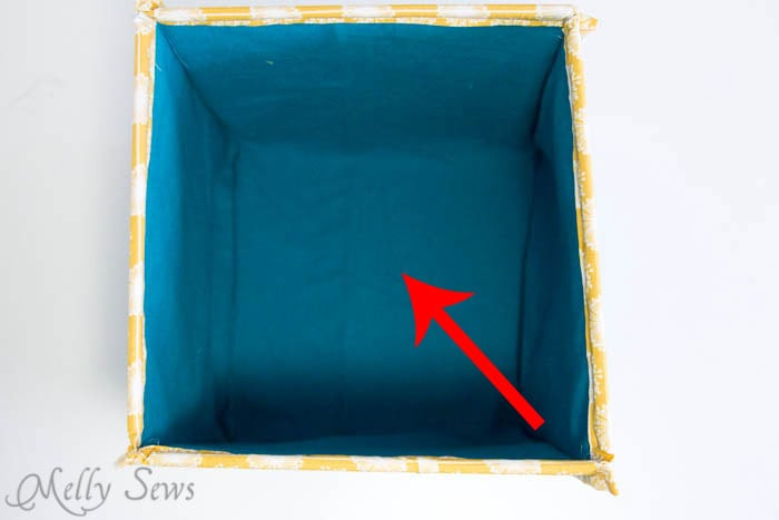 How to fold - How to Sew Collapsible Fabric Storage Boxes - MellySews.com