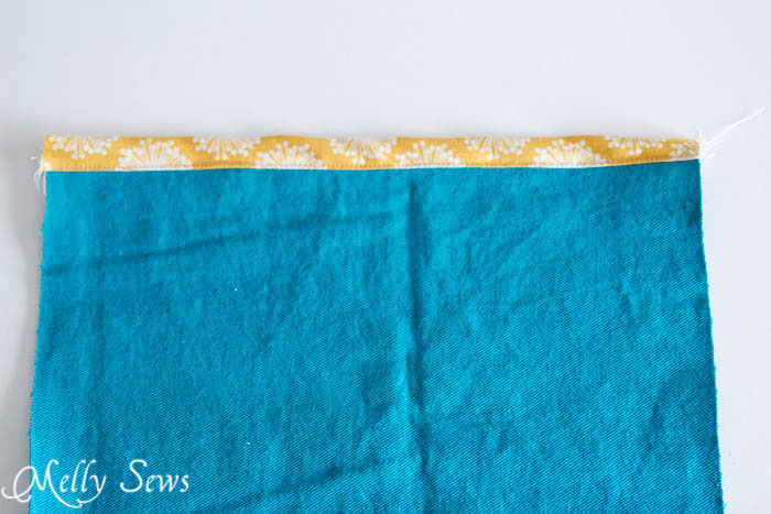 Step 2-1 - How to Sew Collapsible Fabric Storage Boxes - MellySews.com