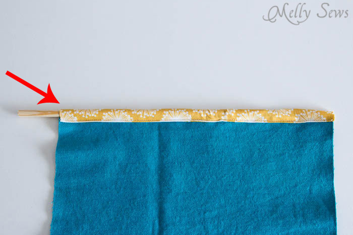 Step 2-2 - How to Sew Collapsible Fabric Storage Boxes - MellySews.com