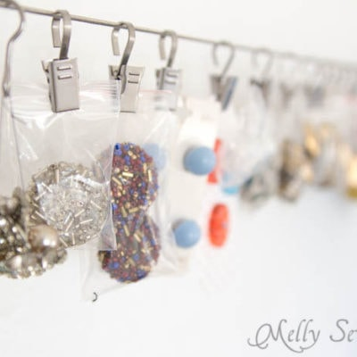 How to Store Buttons in Your Sewing Room