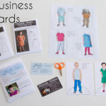 Paper Doll Media Kits - Such a Cute Idea - MellySews.com