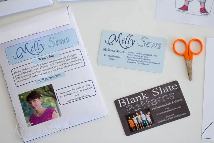 Mini Media Kit - MellySews.com