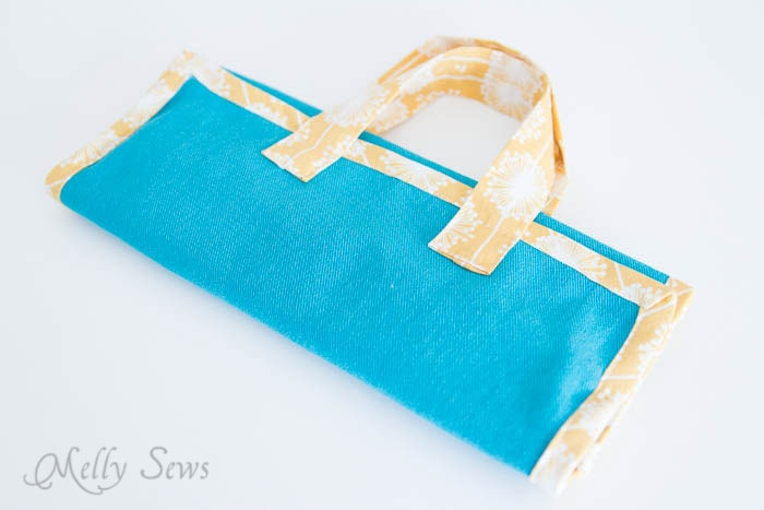 Fold up Jewelry Travel Bag - Melly Sews