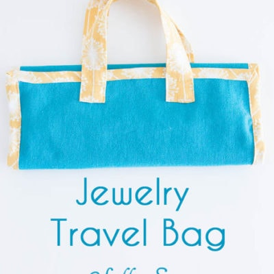 Travel Jewelry Bag Pattern Tutorial