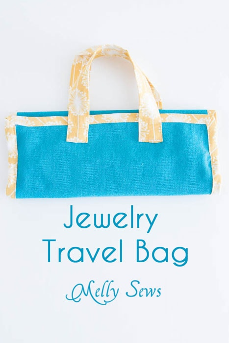 Jewelry Travel Bag Pattern and Tutorial - Melly Sews