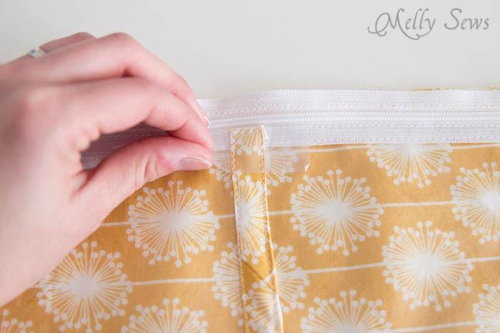 Step 4-2 - Jewelry Travel Bag - Melly Sews