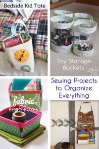 Sewing Projects for Organization - Melly Sews