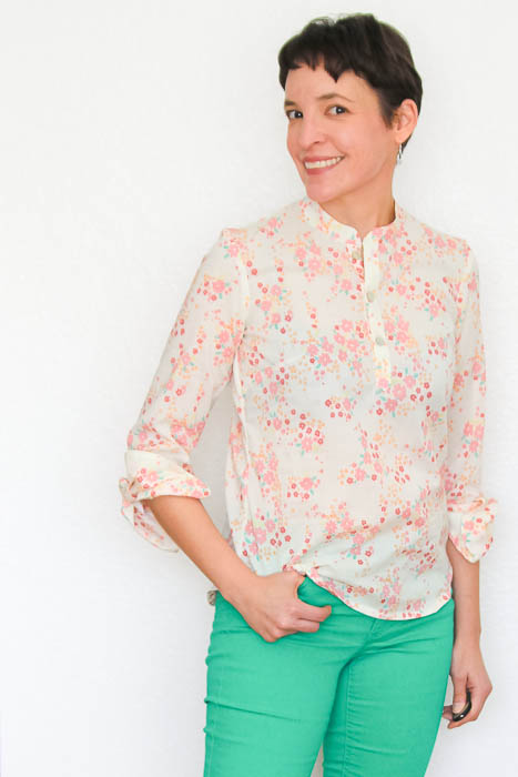 I need to make this - Palo Verdes organic voile top - Melly Sews #sewing