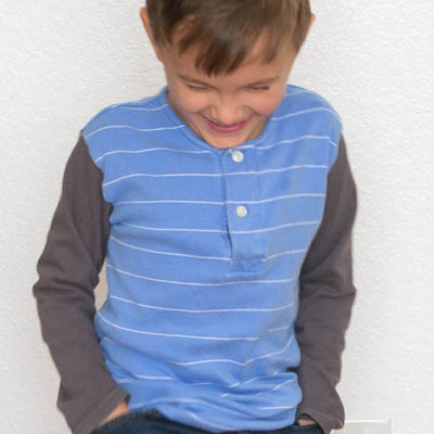 Handmade Boy Style – Polo Shirt Upcycle
