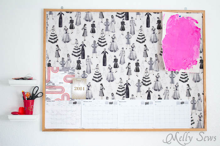 Bulletin board -  Sewing Room - Melly Sews Sewing Studio