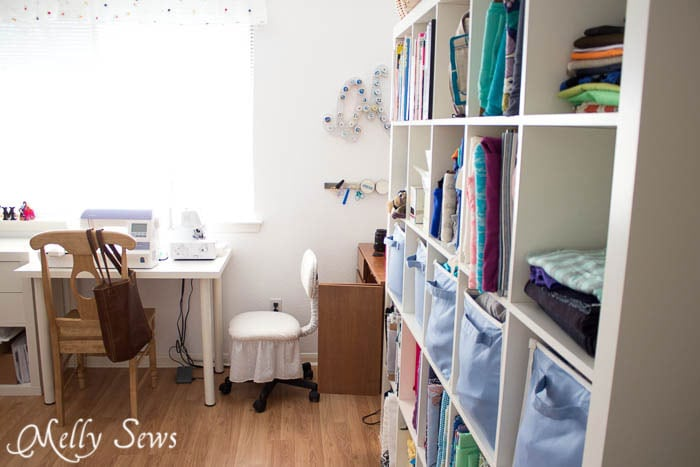 Entrance - Sewing Room - Melly Sews Sewing Studio