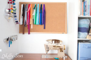Sewing nook - Sewing Room - Melly Sews Sewing Studio