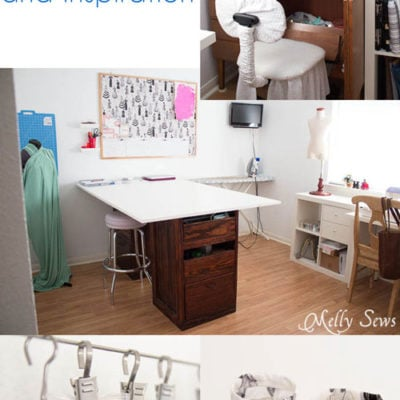 January Wrap Up – Sewing Room Organization Ideas