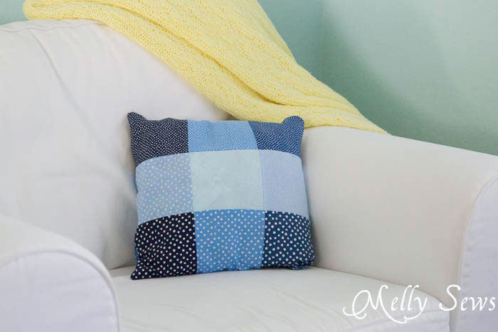 Sew a Zipper Pillow