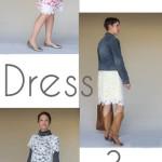 Lace Dress, 3 Ways