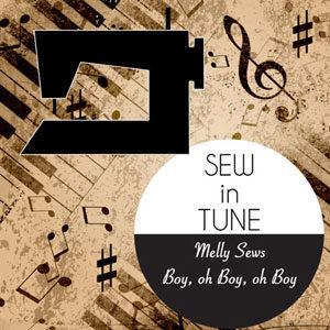 Sew in Tune - MellySews.com and boyohboyohboycrafts.com