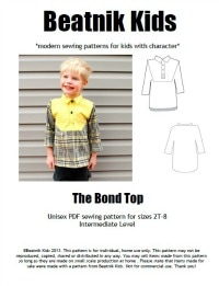 bond top cover button