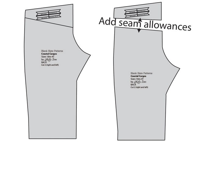 How to alter Pants to have a Yoke - MellySews.com