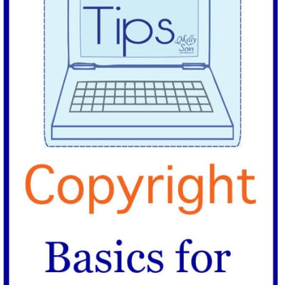 Tech Tips – Copyright Basics for Bloggers