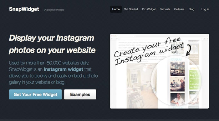 Step 1 -How to Embed an Instagram Feed - MellySews.com Tech Tips for Blogging