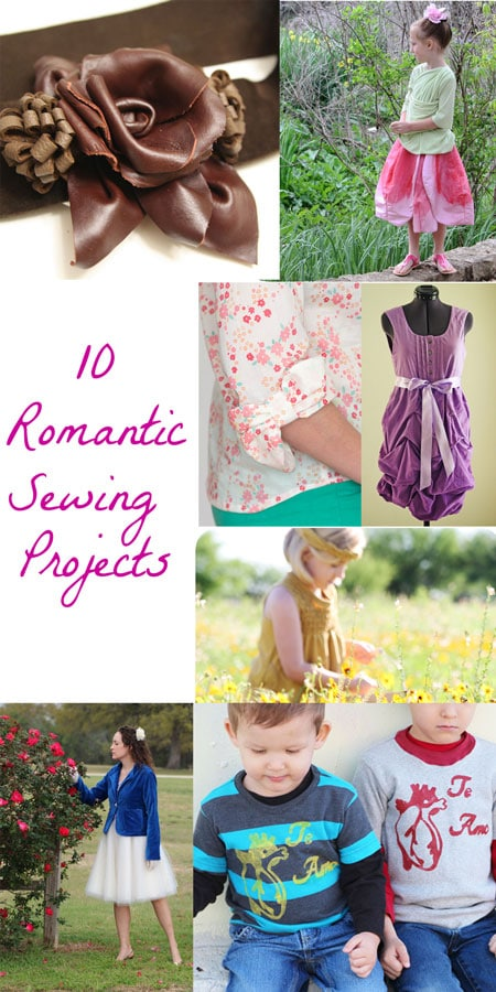 10 Great Romantic Sewing Projects - Not Just for Valentine's Day! - MellySews.com