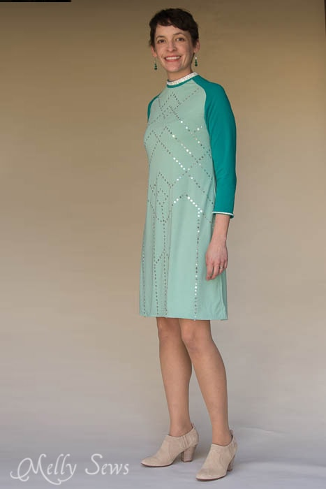 Love this - sequin dress - MellySews.com