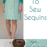 How to Sew Sequins - MellySews.com