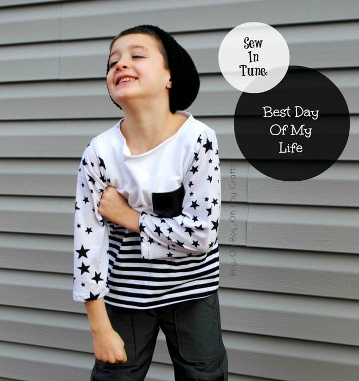 Sew in Tune - Best Day of My LIfe - Boy Oh Boy Oh Boy!